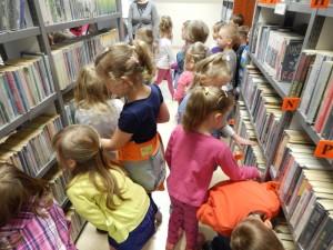 Wycieczka do biblioteki w Sokołowie Podlaskim