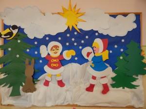Zabawy z Panią Zimą! Zajęcia z p. Magdaleną Kozłowską